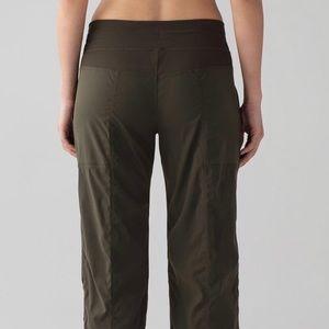 Size 4 dark olive studio dance pant -unlined.